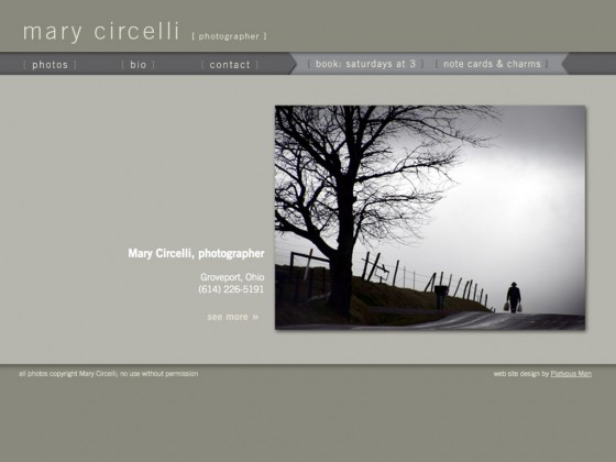 Mary Circelli, Photographer