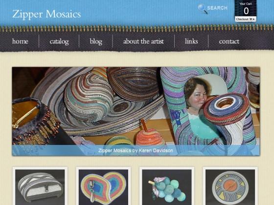 Zipper Mosaics