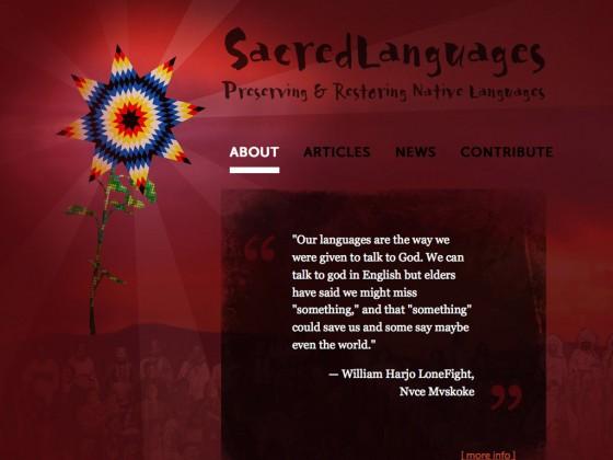Sacred Languages